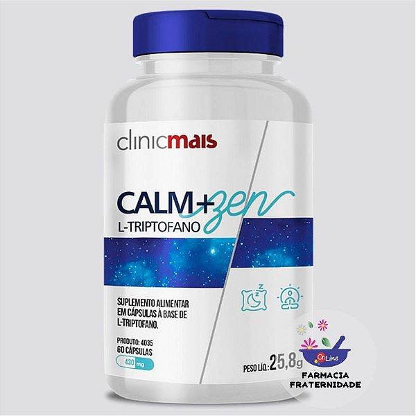 Calm+Zen L Triptofano 430 mg 60 Cápsulas