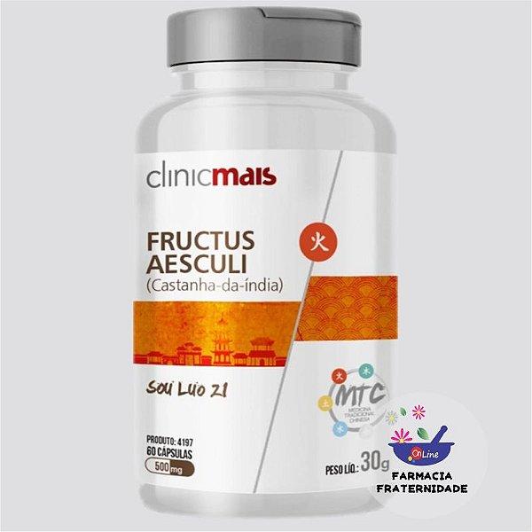 Castanha Índia 500 mg 60 Cápsulas