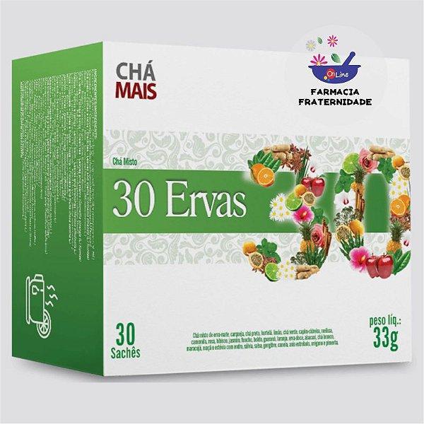 Chá 30 Ervas 30 Sachês
