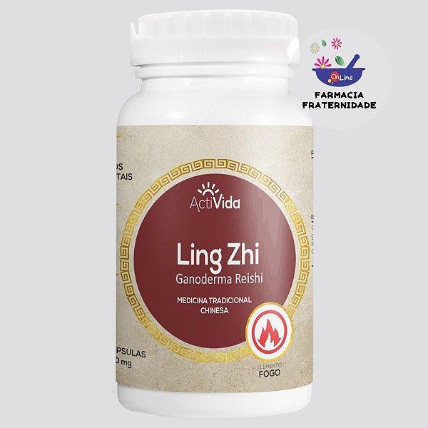 Cogumelo Ganoderma (Ling Zhi) 500 mg 60 Cápsulas