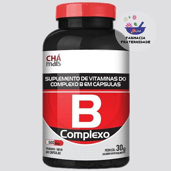 Complexo B 500 mg 60 Cápsulas