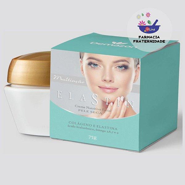 Creme Nutritivo Facial Elastin Pele Seca 75 g