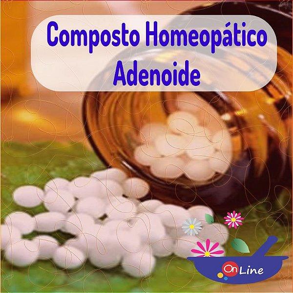 Composto Homeopático Adenoide 24g