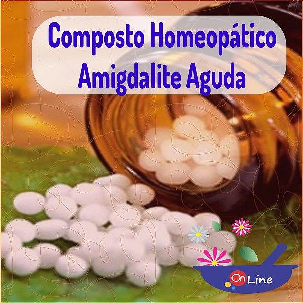 Composto Homeopático Amgdalite Aguda 24g