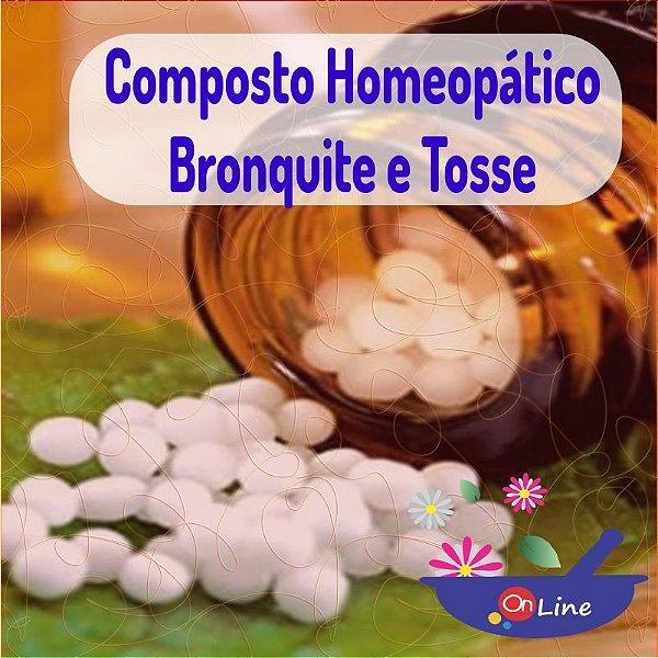 Composto Homeopático Bronquite e Tosse 24g