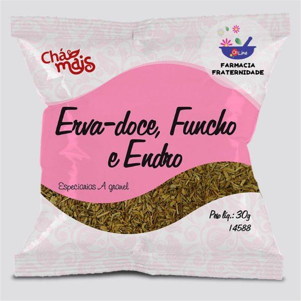 Chá Erva de Erva Doce, Funcho e Endro 30 g