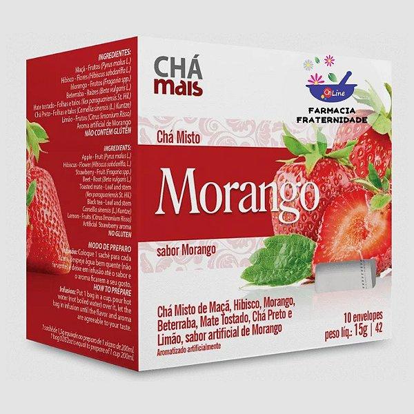 Chá Misto Morango 10 Sachês