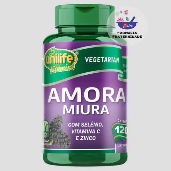 Amora Miura 500 mg 120 Cápsulas