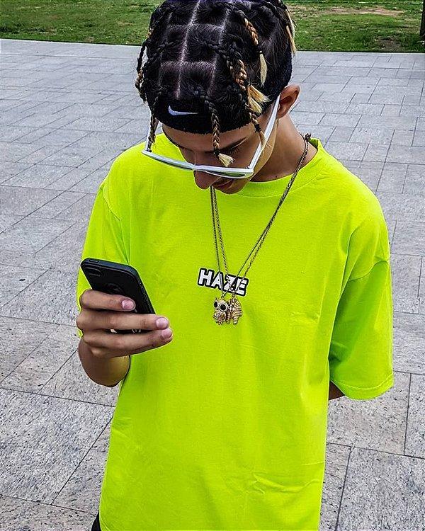 Camiseta Haze Wear Real LOGO Verde