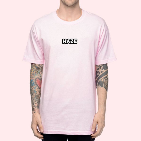 Camiseta Haze Wear Real LOGO Rosa