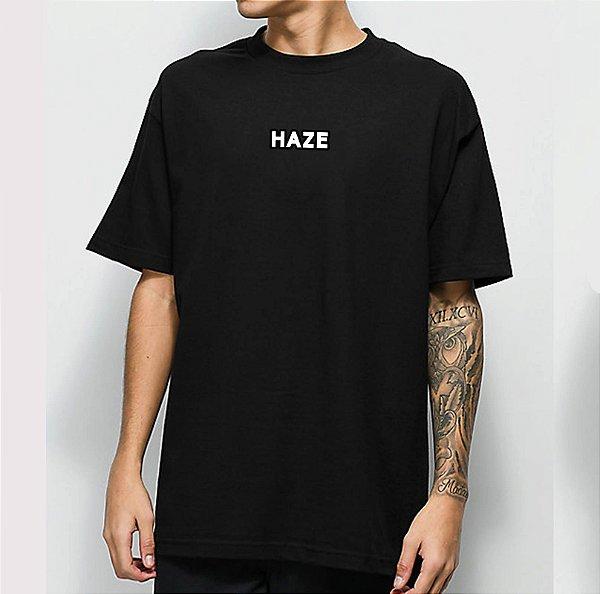 Camiseta Haze Wear Real LOGO Preta