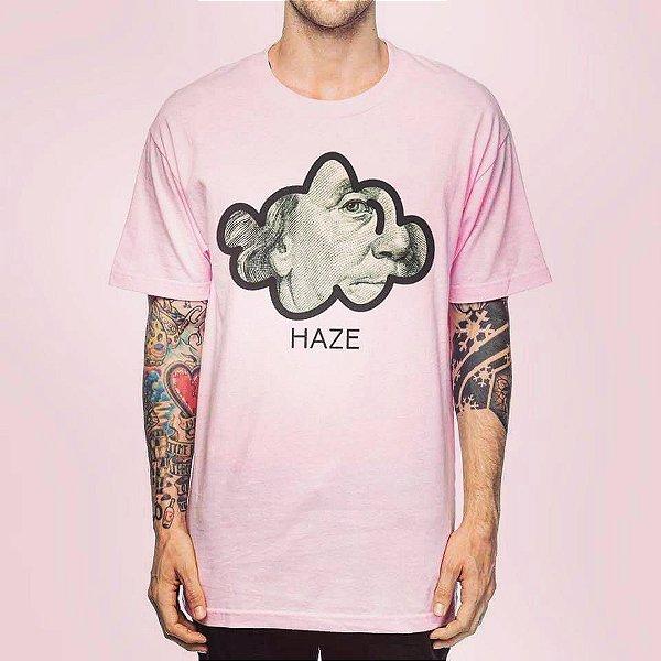 Camiseta Haze wear Benjamin franklin Rosa