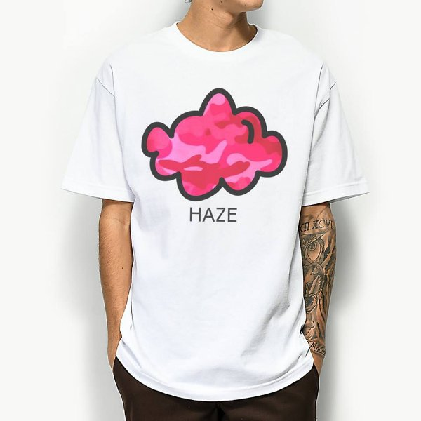 Camiseta Haze Wear Pink Camo