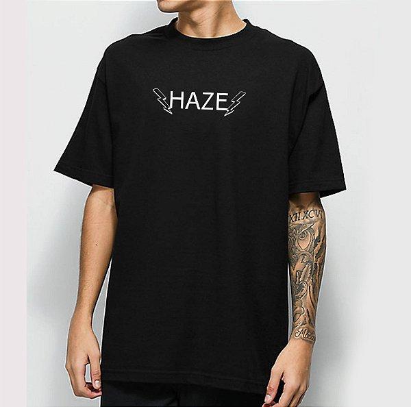 Camiseta Haze Wear Hbolts Preta