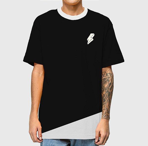 Camiseta Haze Wear Mescla Preta