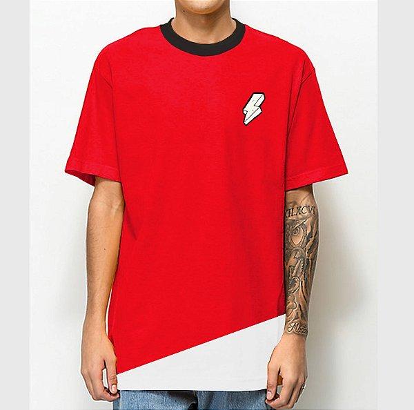 Camiseta Haze Wear Mescla Vermelha