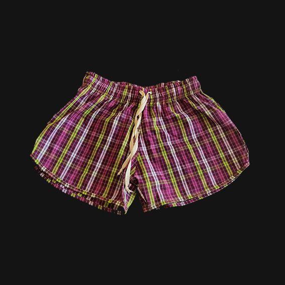Short HAZE wear Xadrez Feminino