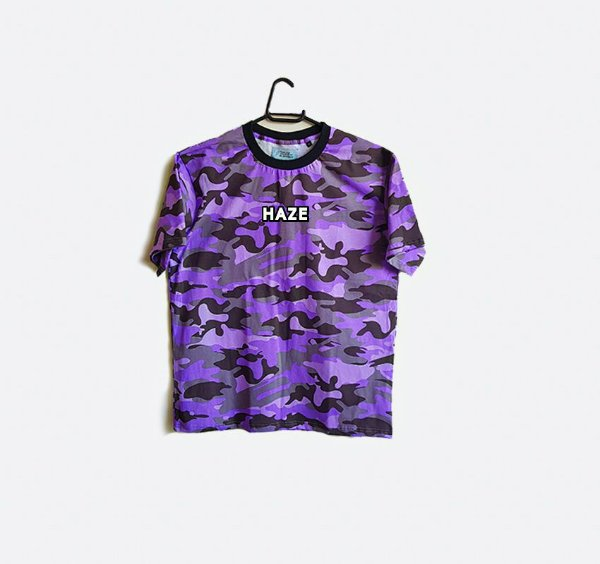 Camiseta HAZE wear Real Logo Camuflada