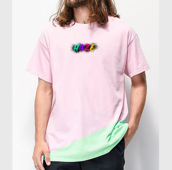 Camiseta HAZE wear Colors LOGO