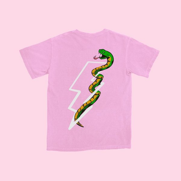 Camiseta Haze Wear SNAKES Rosa
