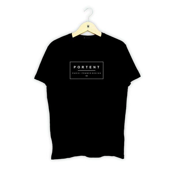 Camiseta FRANCE DESIGN - BLACK