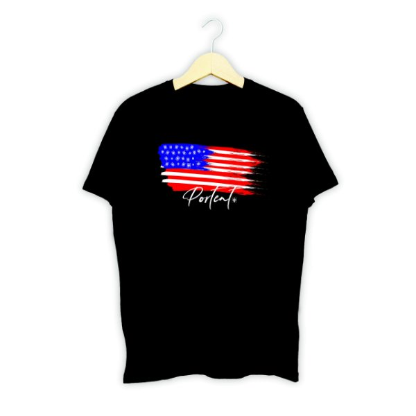 T-SHIRT Modelo FLAG USA