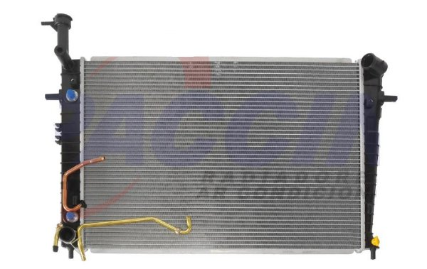 RADIADOR TUCSON / SPORTAGE 2.0 2.7 GAS. 2005/2020 MEC/AUT (SUP.BAIXO)
