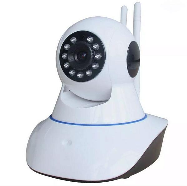 Kit 3 Câmera Ip Ir Wireless Visão Noturna - 2 Antenas