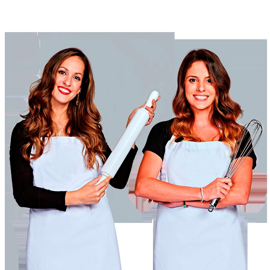Livia Cathiard e Raquel Novais