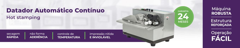 imagem com o nome, foto e diferenciais do datador automático contínuo