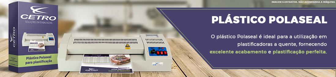 5a86a0140 Plástico Polaseal para Plastificação tamanho Ofício II - 100un (226x340mm)