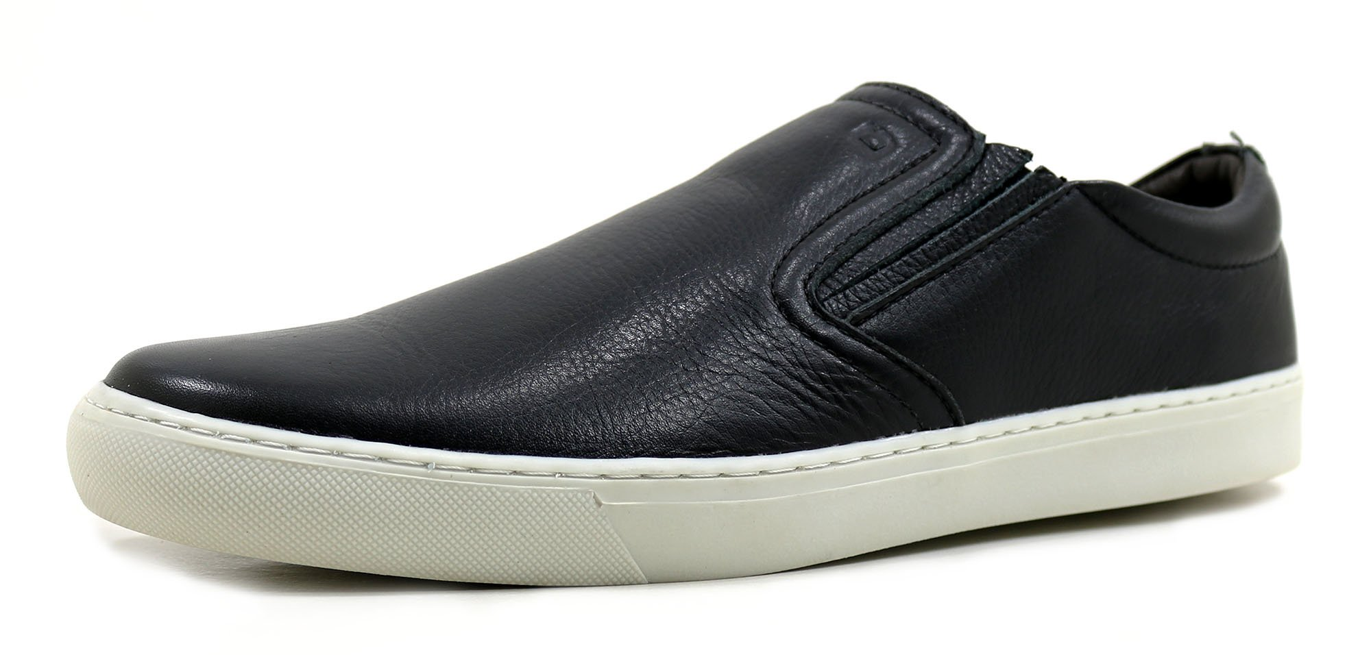 9b16664ed1 Slip On Leeds Preto - Loja Orlandelli Calçados - Sapatos Masculinos