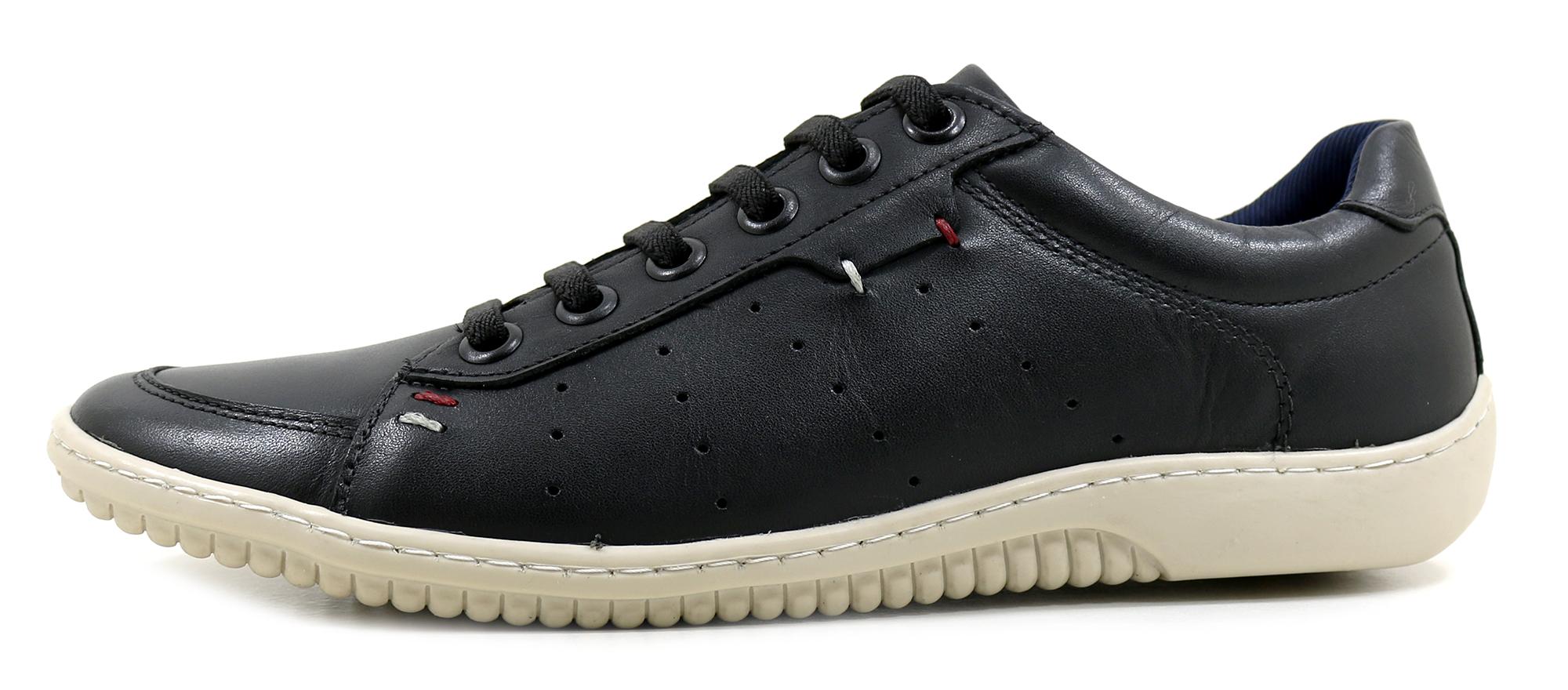 b06f003555 Sapatênis Crook Preto - Loja Orlandelli Calçados - Sapatos Masculinos