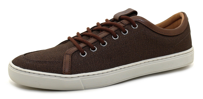 2996bbabfc Material externo (Cabedal) : Couros e Tecidos selecionados macios ,  valorizam o estilo do Sapatênis e Proporcionado a sensação que seus pés  necessita.