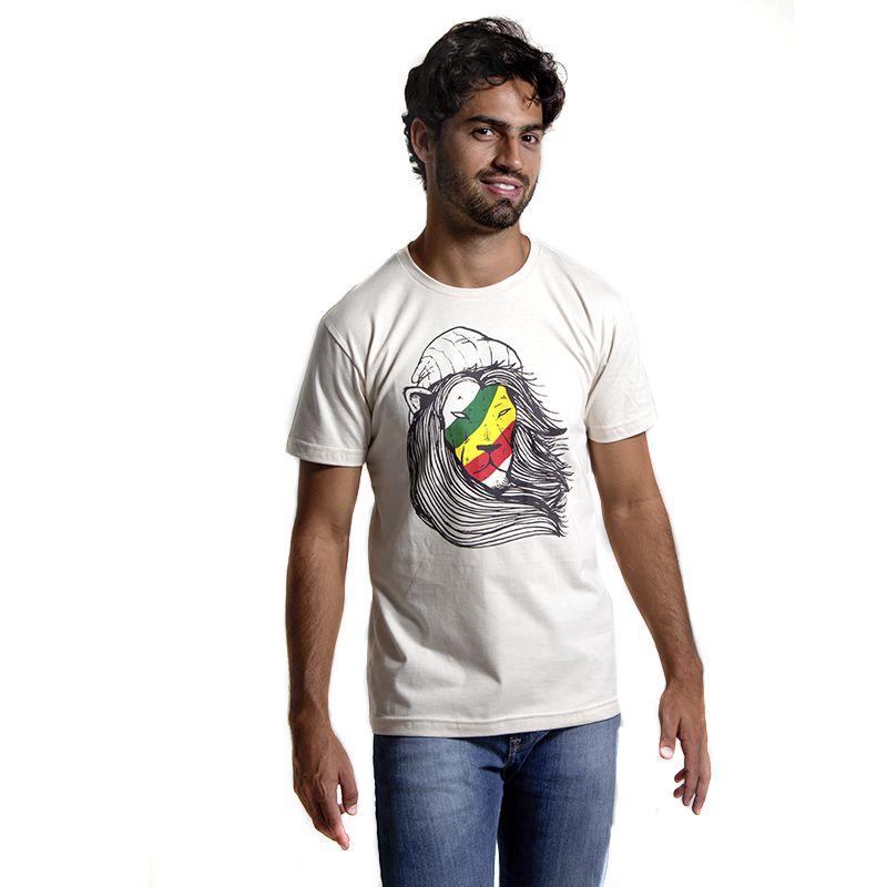 Camiseta Leão Rasta - Urbanus Camiseteria 5d545679e26