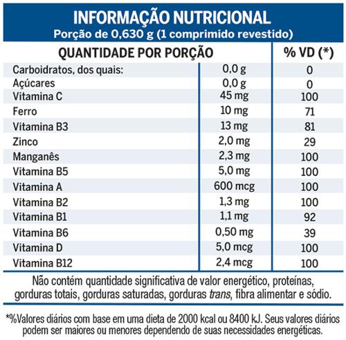 93d6fecaaccb5 Lavitan está sempre em alta performance cuidando dos níveis de vitaminas e  minerais daqueles que estão sempre no limite.
