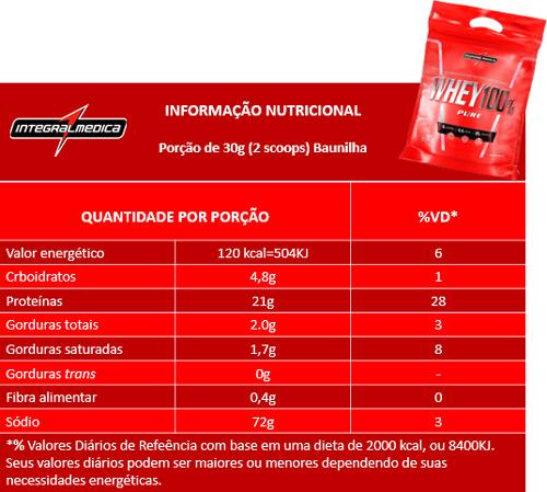 tabela-nutricional-refil-integralmedica-whey-100-pure-907g-baunilha