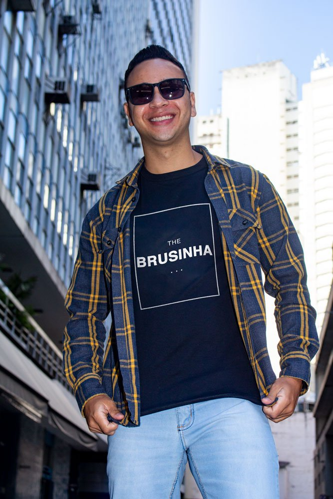 Camiseta Com Frase - THE BRUSINHA