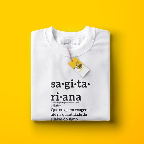 Camiseta Sagitário - Sagitariana Signo