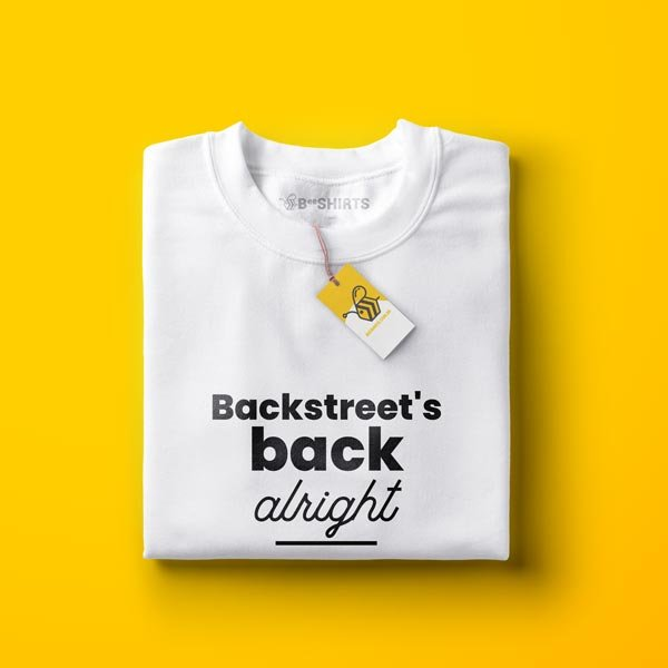 Camiseta Backstreet Boys - Backstreet´s back alright