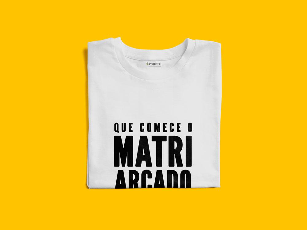 Camiseta Feminista - Que Comece O Matriarcado