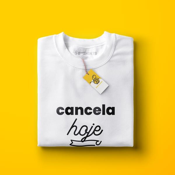 Camiseta LGBT - Cancela Hoje