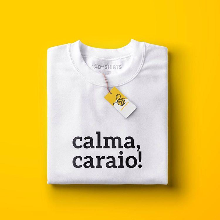 Camiseta Calma Caraio