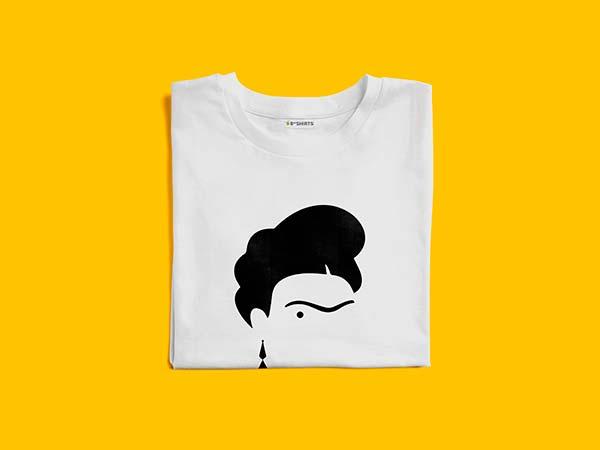 Camsieta Frida Kahlo - Camisetas Feministas