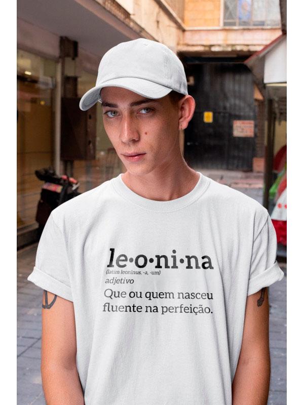Camiseta Leonina - Camiseta Signo de Leão