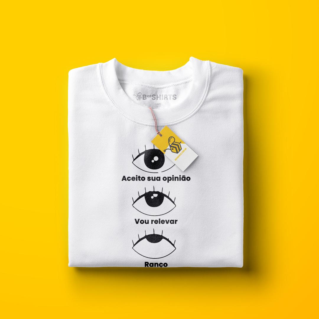 Camiseta Ranço e os estágios do ranço