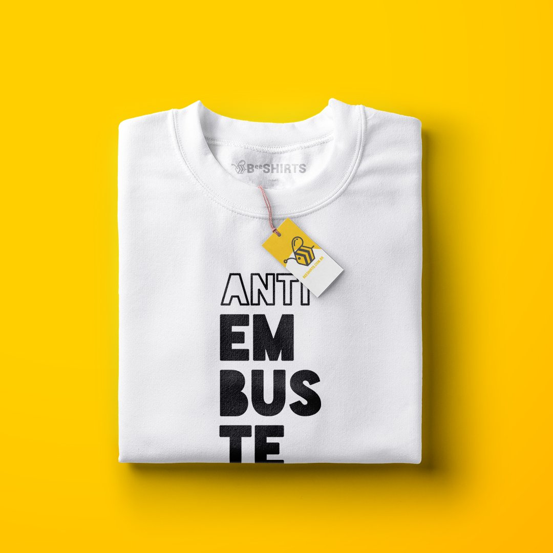 Embuste Significa o quê? Camiseta Anti Embuste