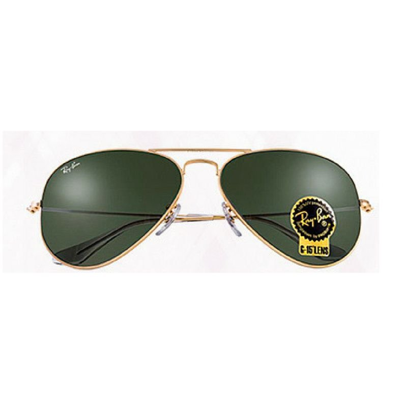 6453679be8 Ray Ban Aviator / Aviador Clássico Verde G15 3025 - Magu Outlet ...