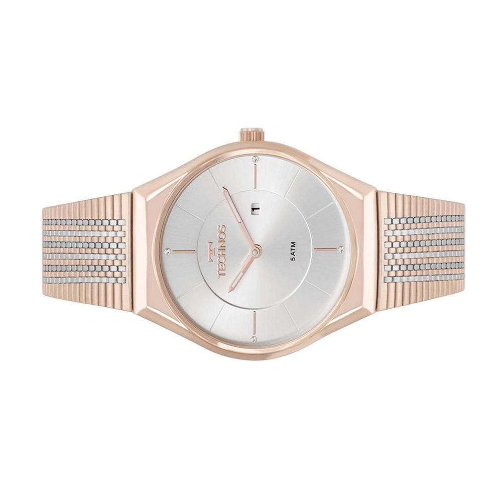 ... Relogio Feminino Technos Rose Gold Fashion Slim GL15AP 4B - Imagem 2 ... 5c269f115d