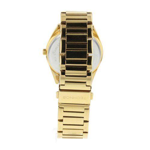 ... Relogio Feminino Dourado Technos Elegance St. Moritz C Pedra - Imagem 2  ... ce2a1f00da